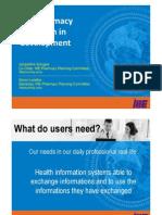 2010 IHE Webinar Pharmacy Domain