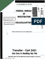 Gabe Cazares FBI File