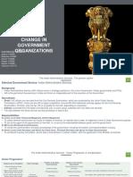 Govt Change