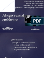 Abuso Sexual y Embarazo