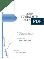 Junior Cedeño Normas ASTM