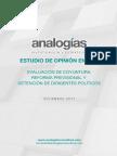 Estudio ANALOGIAS - GBA Diciembre