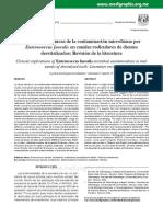 Implicancias clínicas de la contaminación microbiana por Enterococcus faecalis en canales radiculares de dientes desvitalizados
