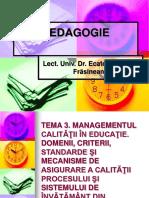 Frasineanu-Managementul calitatii