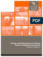 AP-T275-14 Design and Performance of Foamed Bitumen Stabilised Pavements Progress Report 2