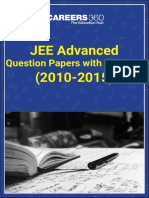 JEE Advanced Question Papers With Answers