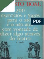LIVRO - 200 EXERCÍCIOS E JOGOS PARA O ATOR E NÃO-ATOR  - AUGUSTO BOAL.pdf