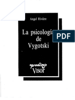 Riviere Angel - La Psicologia de Vygotski