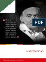Catálogo Matemáticas McGraw Hill