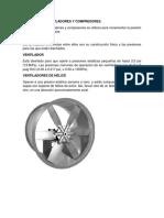 Ventiladores Sopladores y Compresores