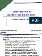 Adm Inst Financieras 2009 - i Sesion 5 y 6