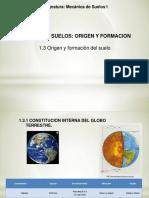 1.1. Origen y Formacion Del Suelo