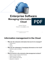 Information in the Cloud