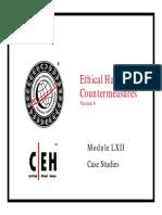 CEHv6 Module 62 Case Studies