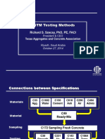ASTM-Saudi - 5 Testing Methods