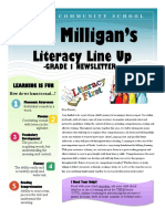 miss milligans newsletter