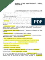 Tema 13 Competencias Municipales
