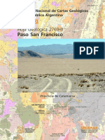 HOJA GEOL_ 2769-II Paso San Francisco