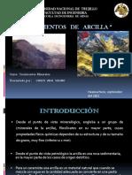Yacimientos de Arcilla