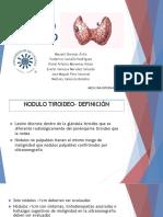 Nodulo Tiroideo Pf