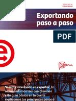Exportadores - Paso a Paso