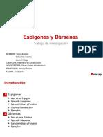 Espigones y Darsenas