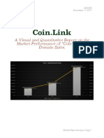 """A Visual and Quantitative Report on the Market Performance of """"Coin""""-Related Domain Sales."""