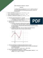 math 1210 signature assignment