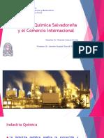 Industria Química Salvadoreña y El Comercio Internacional - Jennifer Gabriel