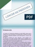 Cáncer de Prostata 2016