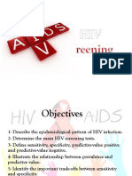 HIV Screening Seminars