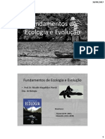 1. Introdução à Ecologia