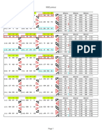 NINE Grid Worksheet Print