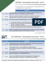 IATF 16949 Sancionadas 017.12