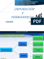 Diapositivas Incorporacion y Permanencia