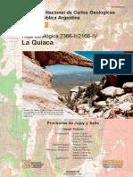 Hoja Geol_2366-Ii_2166-IV La Quiaca