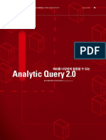 Oracle Analytic Query