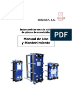 Manual Uso y Mantenimiento