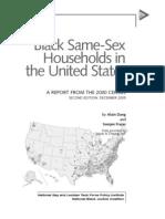 2000 Black Same Sex Households