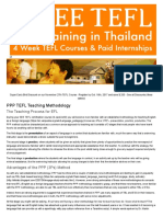 Introduction to PPP (3Ps) Methodology for TEFL (With Videos)