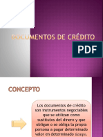 Documentos de Crédito