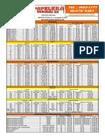 Papelera Formosa 22-Lista de Precios