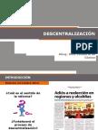 1. DESCENTRALIZACIÓN (1)