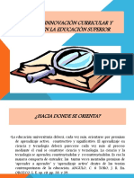 Factores de Innovaciòn Curricular y Acadèmica en La