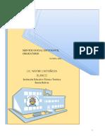 Proyecto Servicio Social Obligatorio.