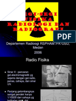 Segi-segi Fisika Radiologi Dan Radiografi