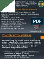Zonificación General en Huanuco