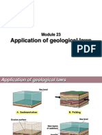 Modul 23B - Application of Geological Laws