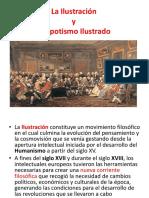 2017 - La Ilustración y despotismo
