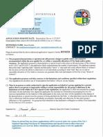 Kessler Permit Denied